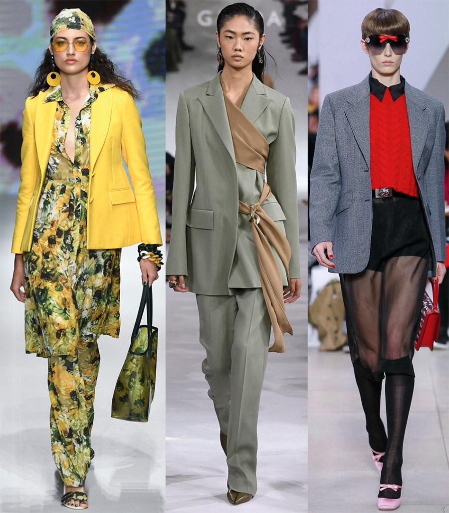 Модные жакеты и костюмы 2019 для женщин и девушек