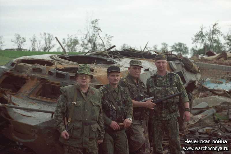 Вторая чеченская война. Чече…