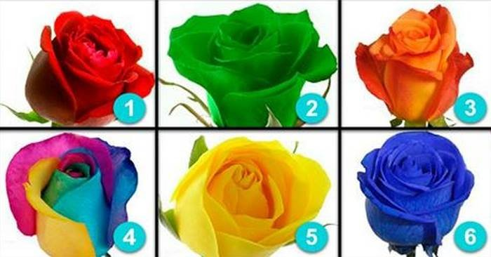 Тест: Выберите одну из шести роз