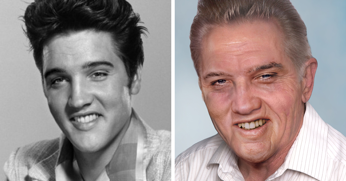 Here's How Dead Pop Stars Would Look Today If They Were Still Alive (12 Pics)