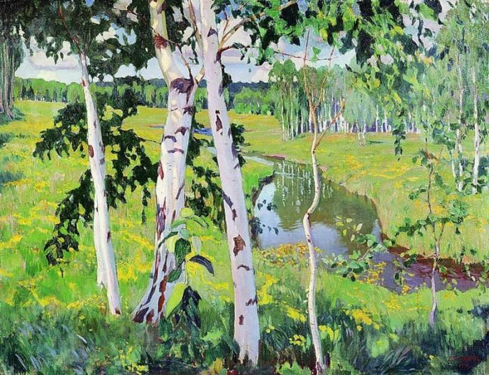 пейзажи художник Аркадий Рылов - 09