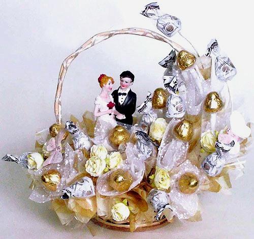 Букеты из конфет для свадьбы своими руками
