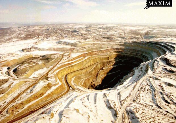 Добыча алмазов в Якутии