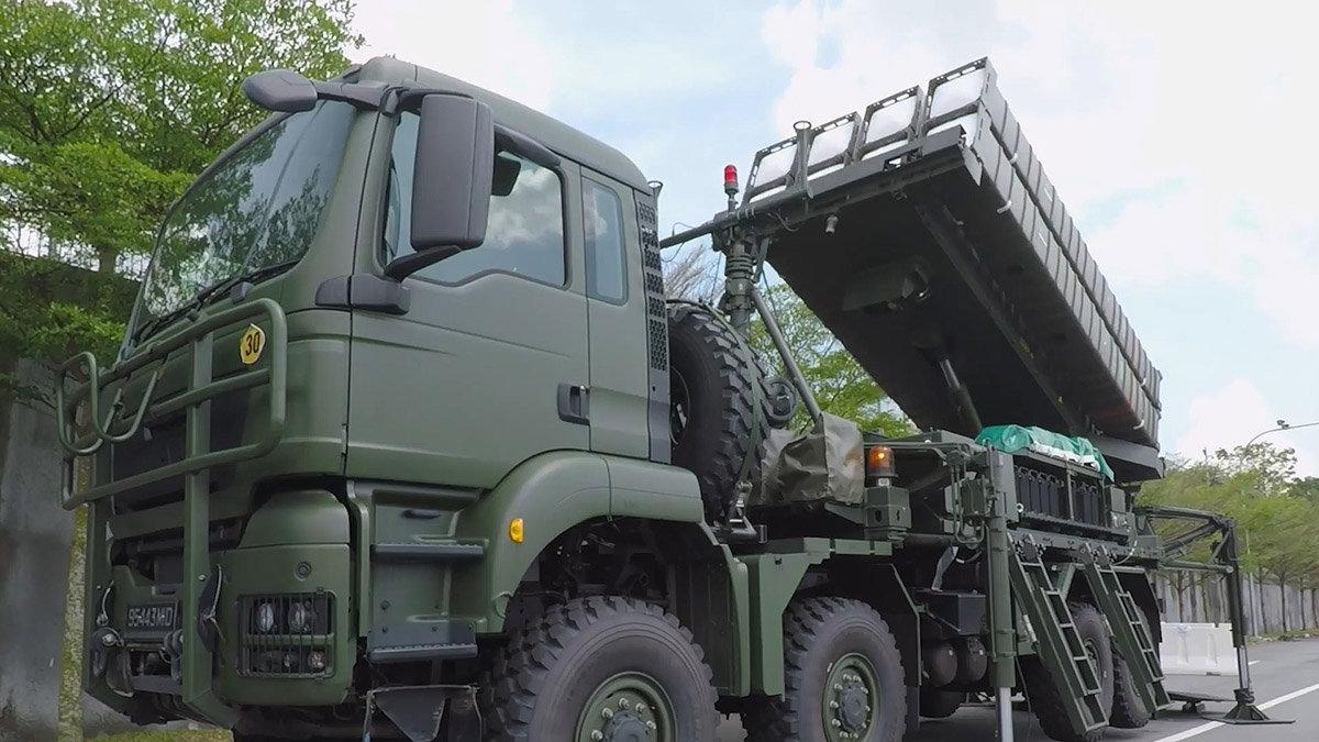 Сингапур получил зенитные ракетные системы SAMP/T