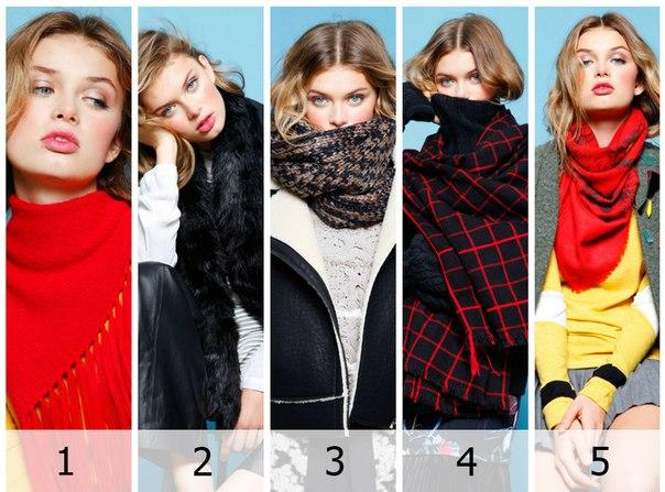 Укутываемся потеплее: модные шарфы