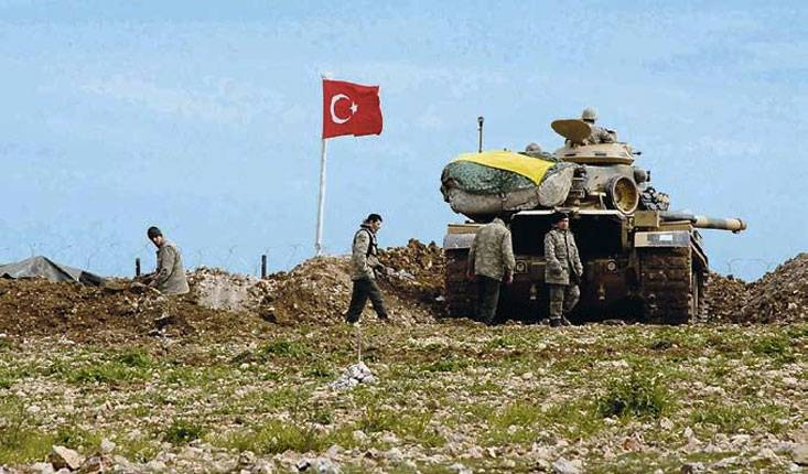 Турецкий марш в Сирии
