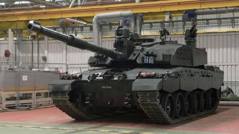 В Британии представили обновленный танк Challenger 2