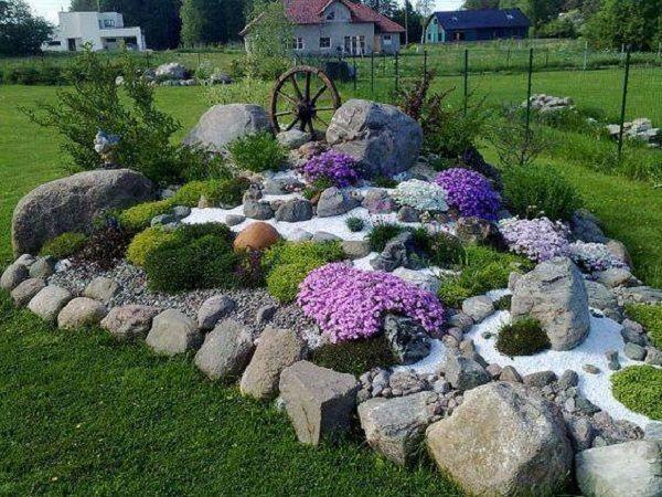 Как создать сад камней и цветов всего за неделю — 14 суперидей, от которых все придут в восторг