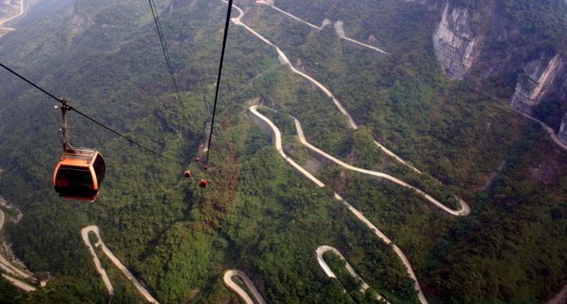 Тяньмэньшань — самая крутая …