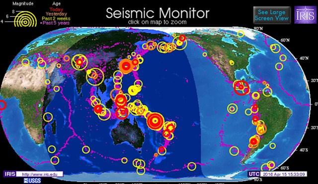 Японские сейсмологи предупредили о вероятности мегаземлетрясения