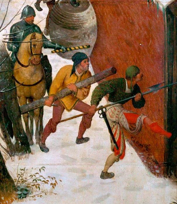 Когда рыцари забывали о рыцарственности