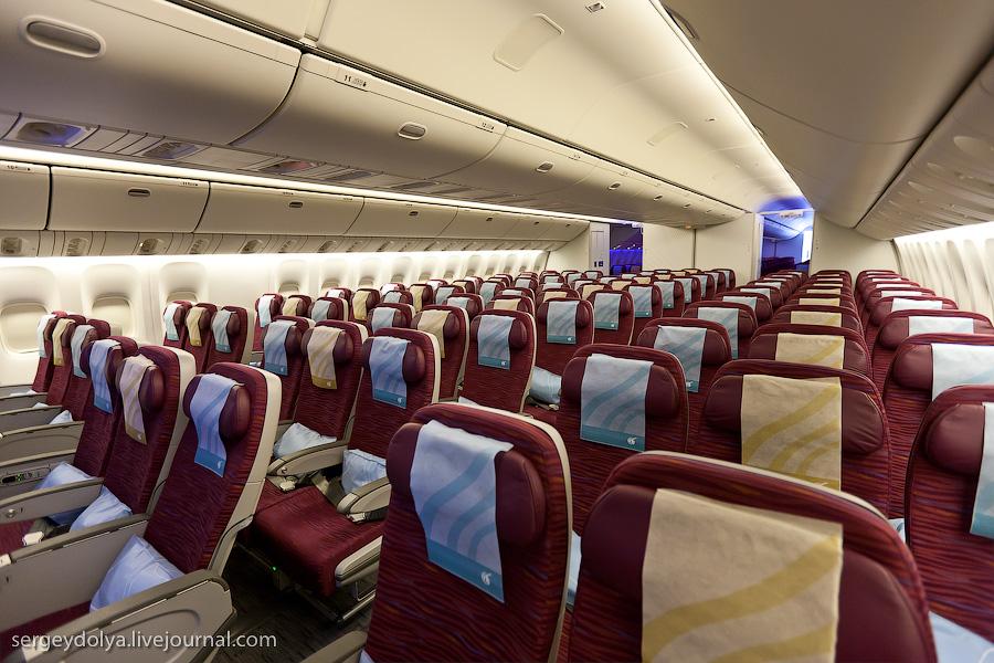 7117 Бахрейнский авиасалон: Интерьеры самолетов