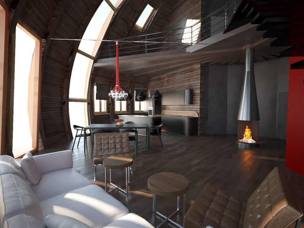 Современные купольные дома  стоят дешевле, чем однокомнатная квартира в Москве