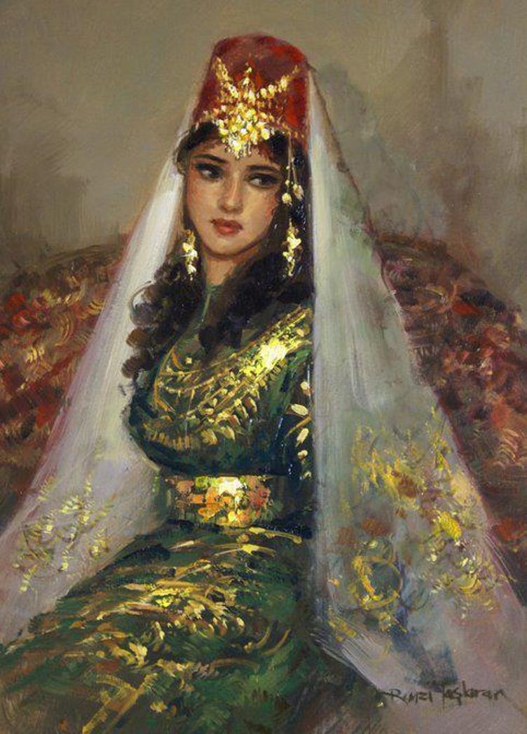 Рисунки турчанок
