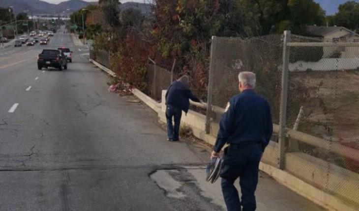 Человек в форме долго шел по пятам за бездомным. Причина этого немало тебя удивит!