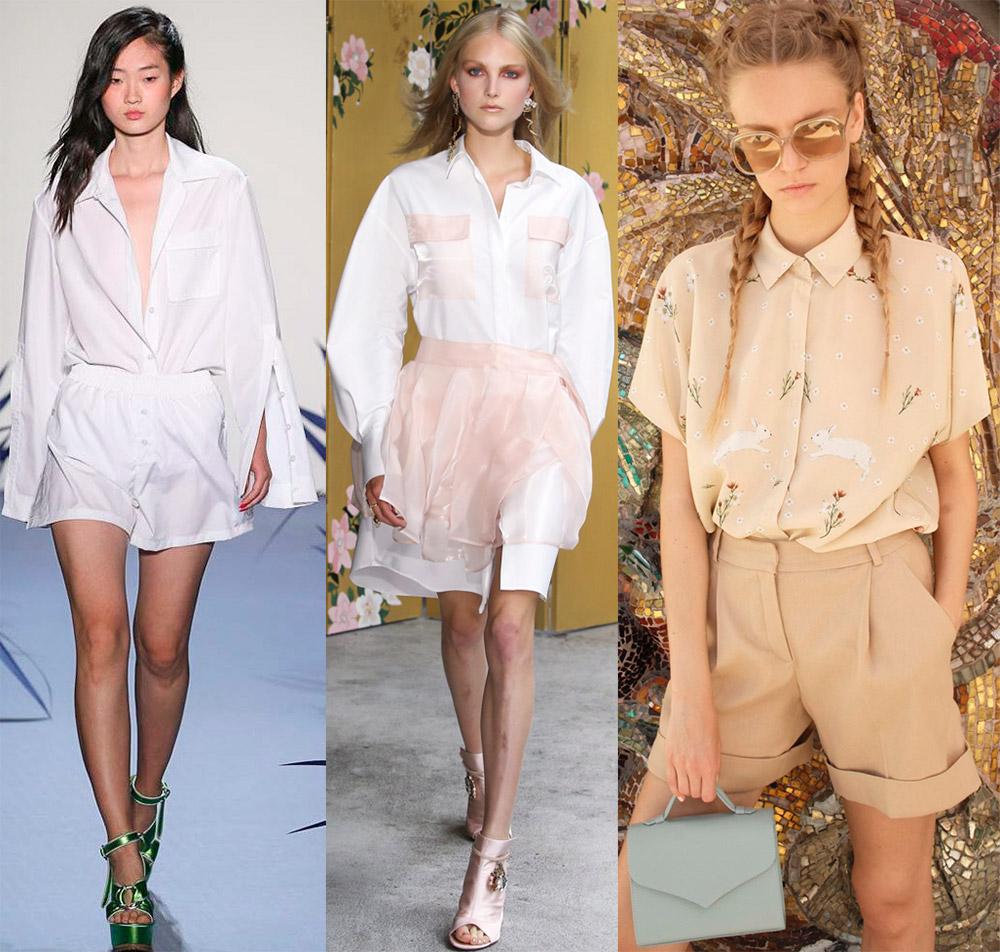 Модные блузки-рубашки 2018