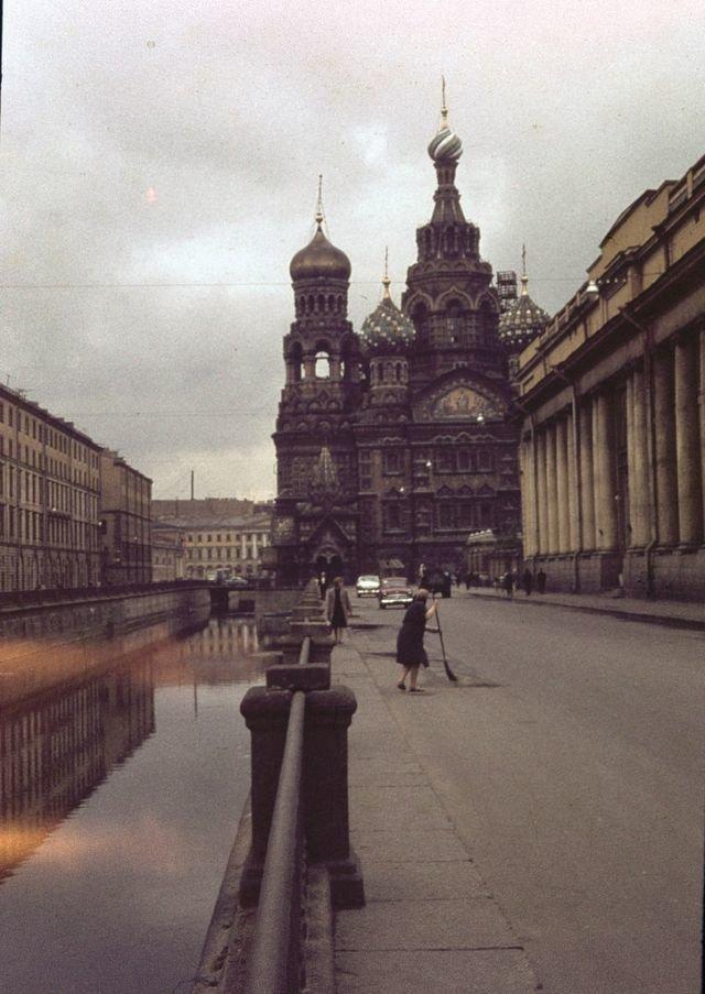 Каким увидел советский Ленинград 1963 года английский турист