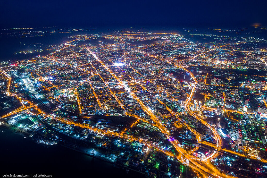 Фотографии Новосибирска с вы…