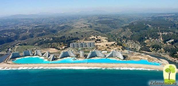 Самый большой бассейн в мире - Сан Альфонсо дель Мар, Чили - 2