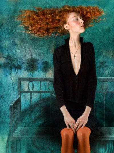 Orange hair.  Из проекта «25 женщин, которых я любила»