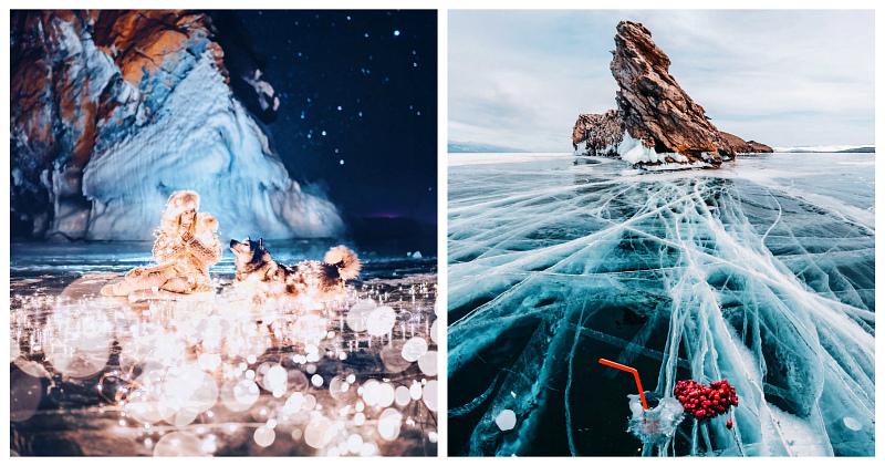 Красота холодного Байкала: 30 новых невероятных фото Кристины Макеевой