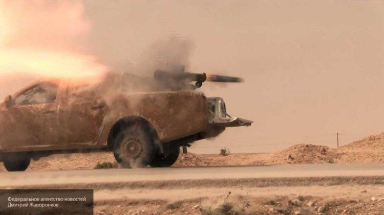 Грамотная работа неизвестных бойцов: боевики США понесли потери в Идлибе