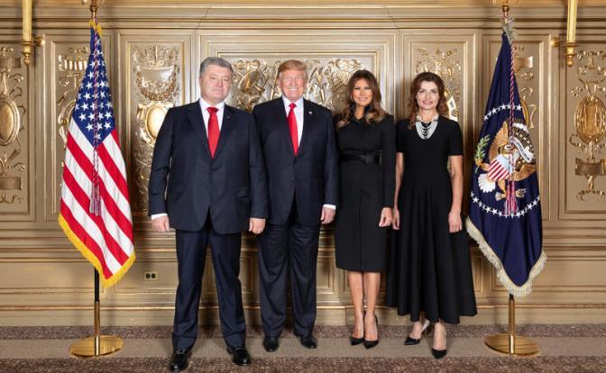 Трамп-Порошенко: Единство по…