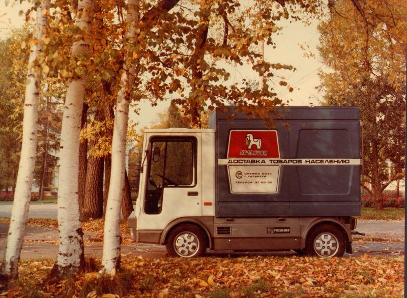 Такой вот советский грузовичок