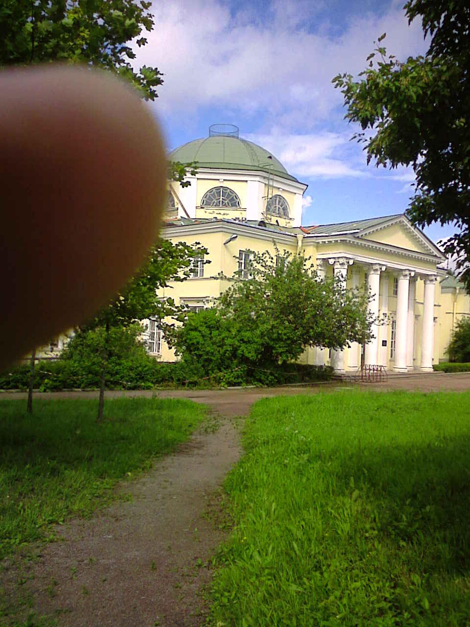 Неудачный веловояж в ПетергоффЪ
