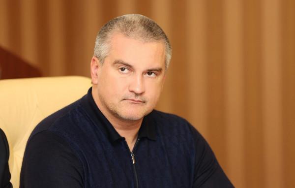 Глава Крыма Сергей Аксёнов о…