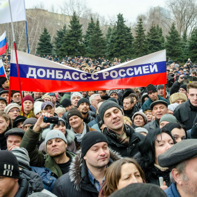 На Донбассе могут провести референдум о присоединении к России