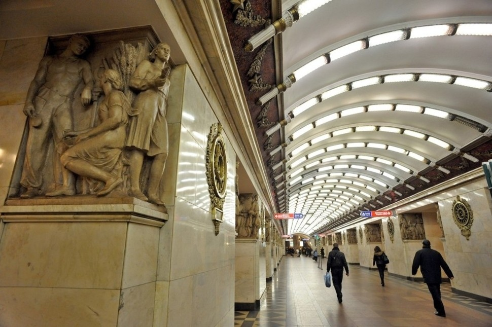 MetroStations41 17 самых волшебных станций метро со всего мира