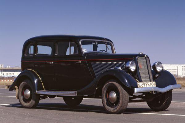 «Эмка» — первый советский легковой автомобиль