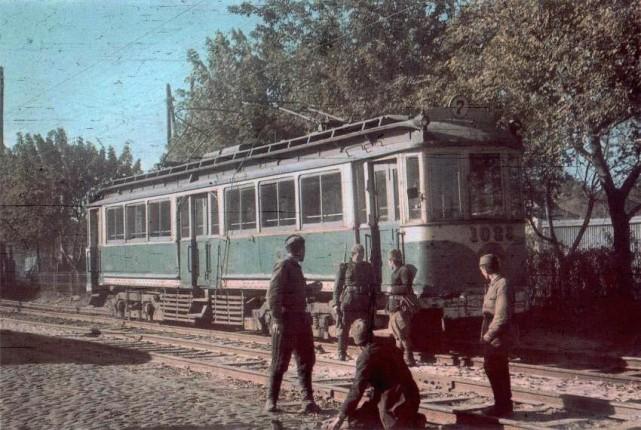 Оккупированный Киев. Цветные фото