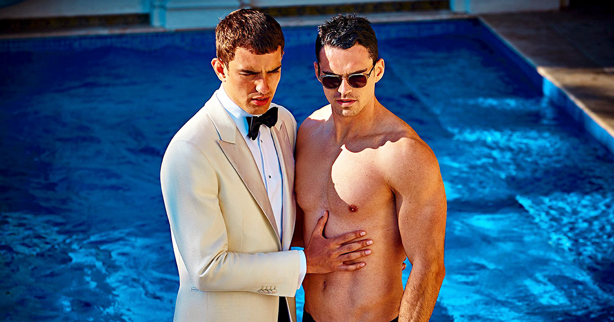 These Same-Sex Ads Just Lost This Suit Company 10,000 Instagram Followers