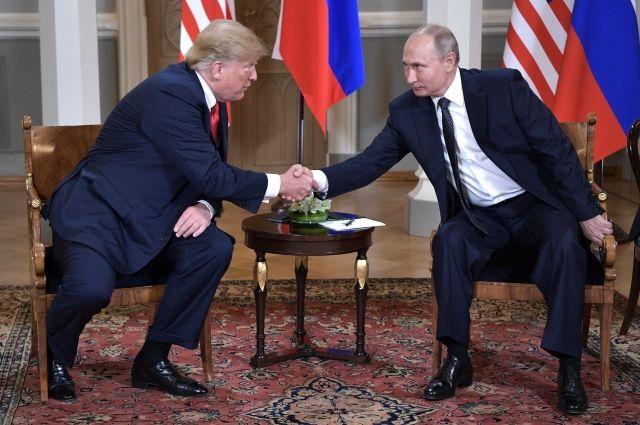 Встреча Путина и Трампа пройдет 11 ноября в Париже
