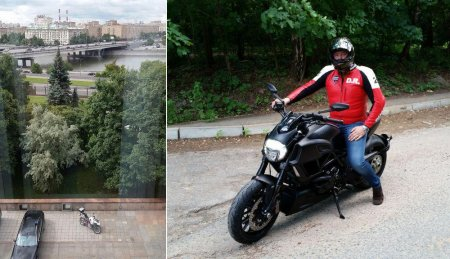Вице-премьер пересел на мотоцикл - Фото 2