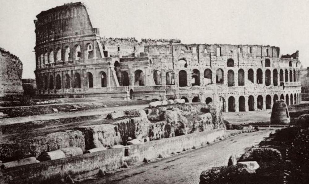 Рим - развалины 19 века