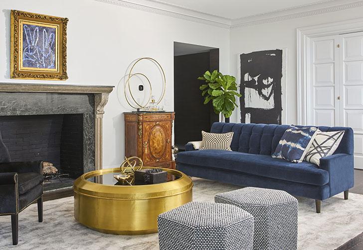 Изысканный и смелый дизайн квартиры в Чикаго