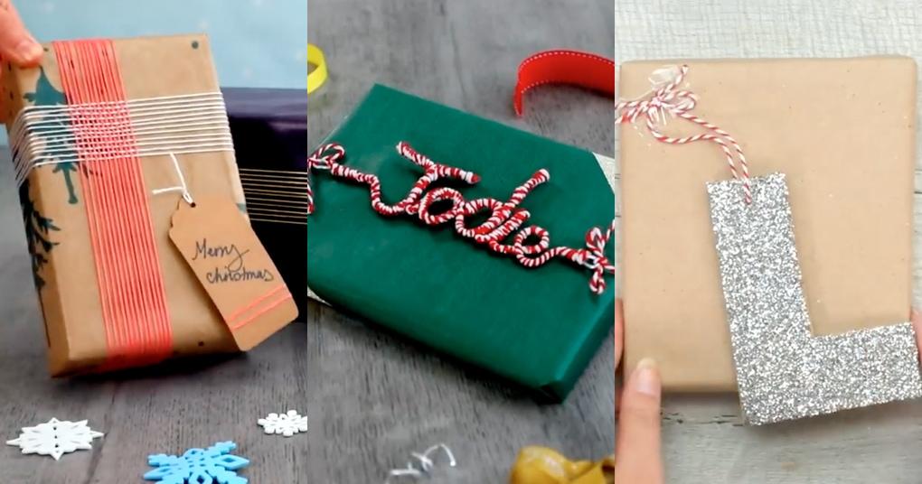 11 креативных идей для упаковки новогоднего подарка
