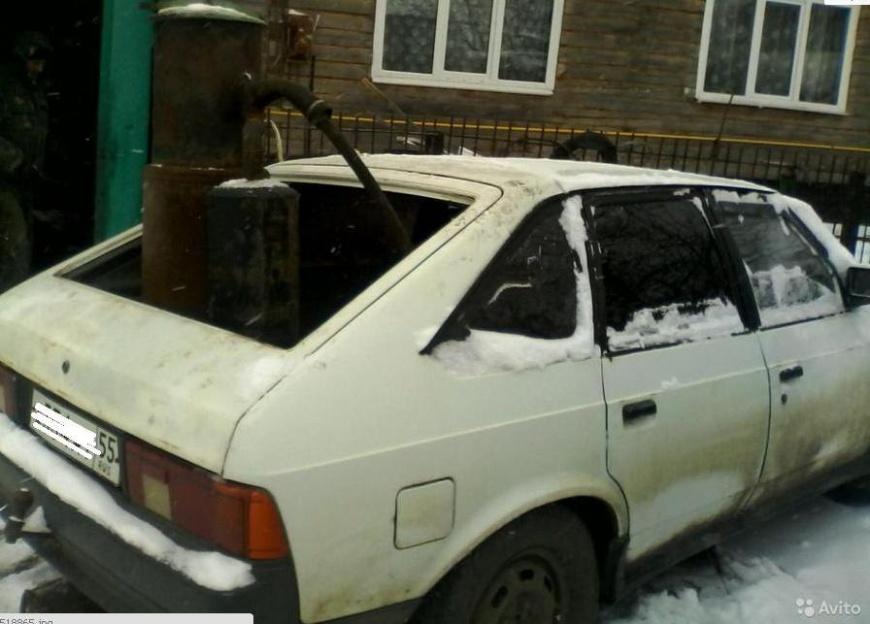 Омич смастерил автомобиль, работающий на сухом навозе