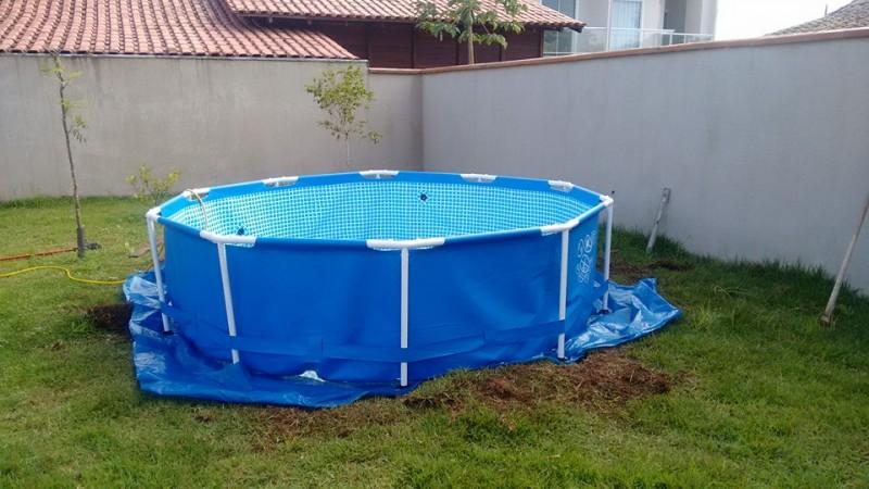 Как сделать бассейн на даче дешево своими руками
