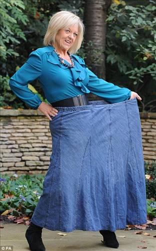 Женщина похудела на 128 килограмм невероятным способом