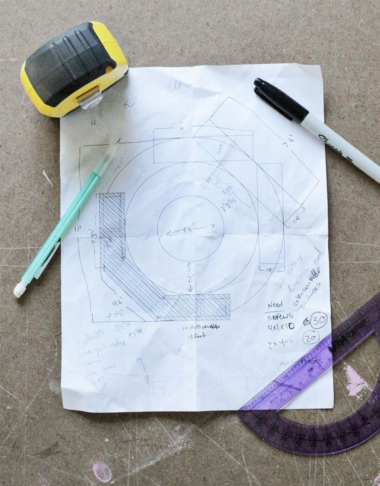 Планирование костер, своими руками, скамейка, уголок