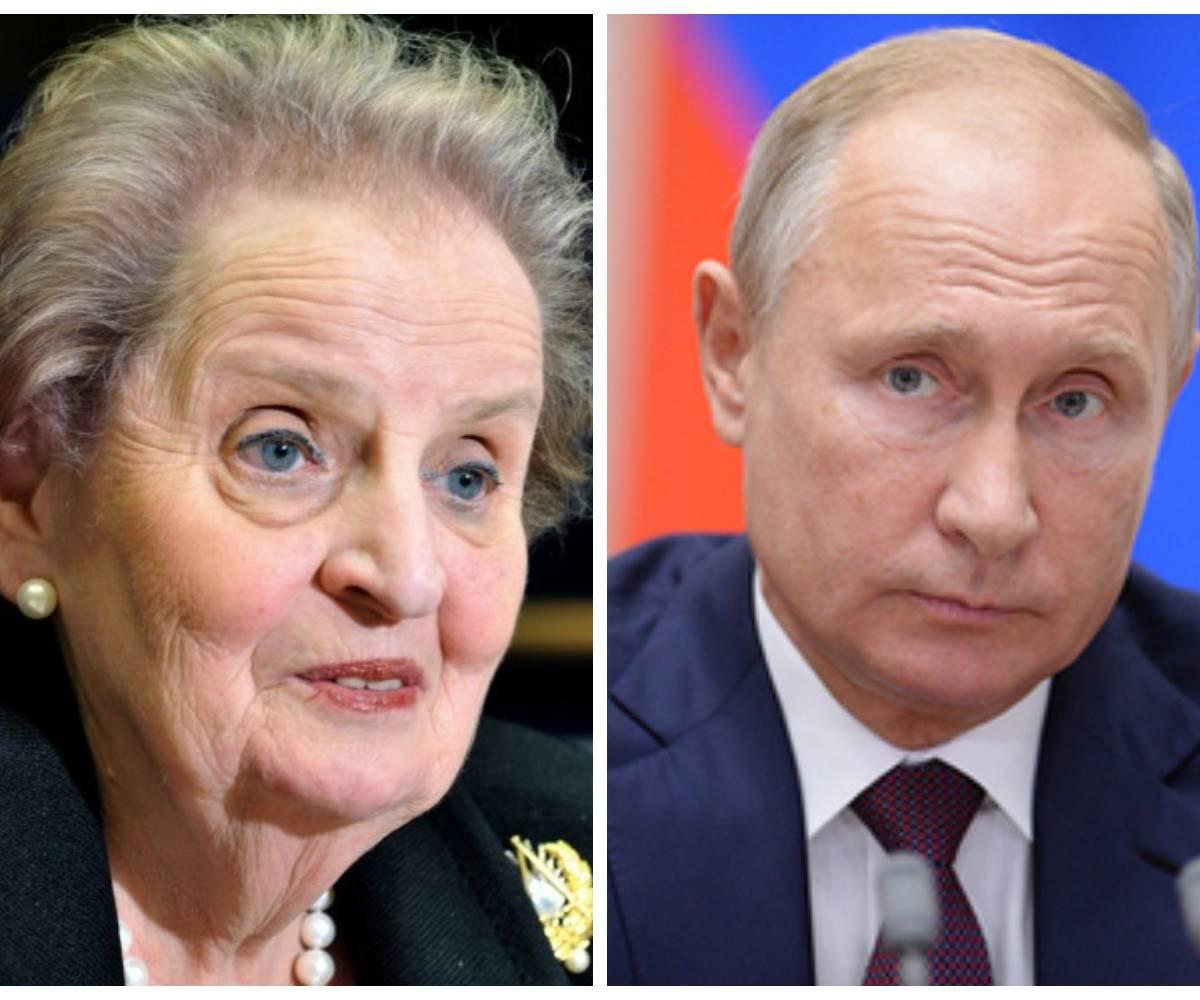 Олбрайт рассказала про Путина: хорошо разыграл партию с плохими картами
