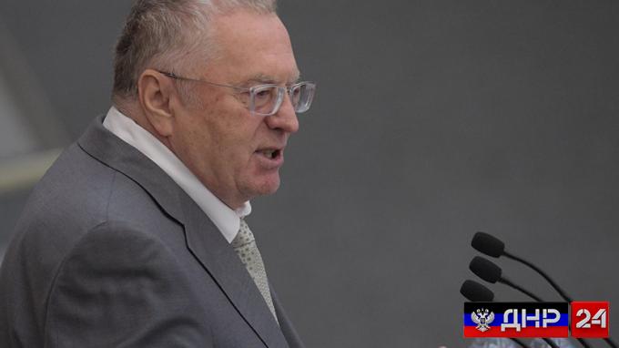 Жириновский: Вся левобережная Украина отойдет к России