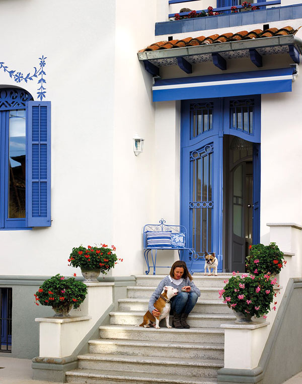 Дом в Барселоне может стать образцом элегантности и хорошего вкуса