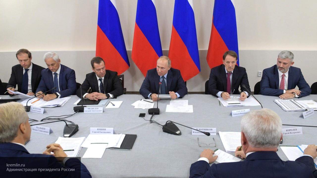 Владимир Путин назначил врио глав Башкирии и Курской области