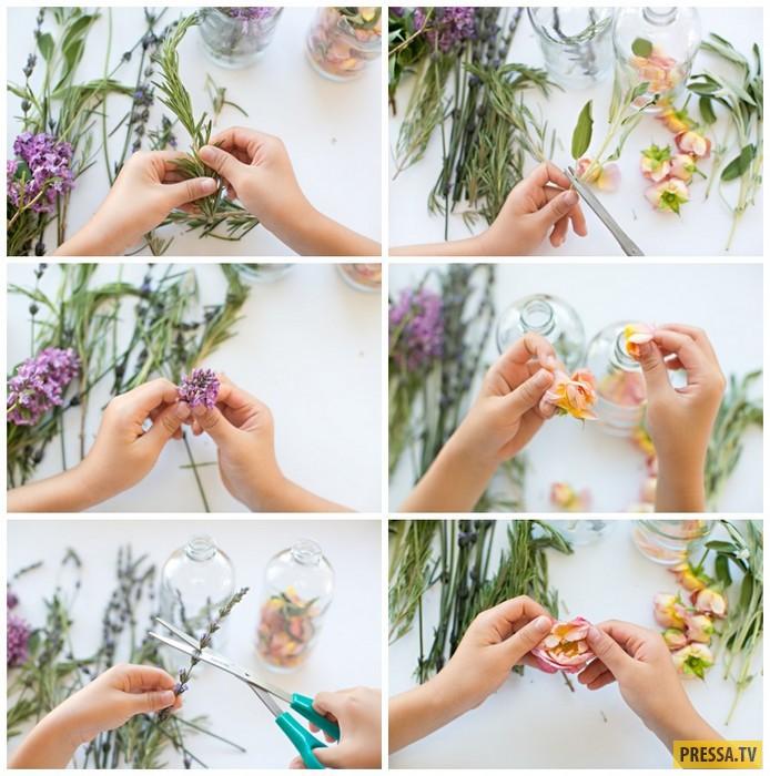 Натуральный освежитель воздуха с потрясающим весенним ароматом своими руками (9 фото)