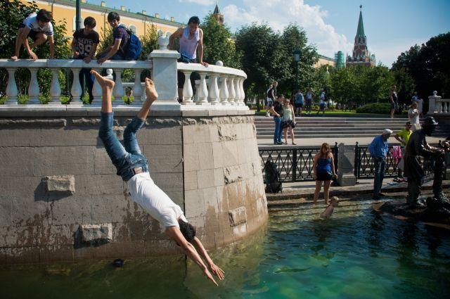 Суббота стала самым жарким днем в Москве с начала года